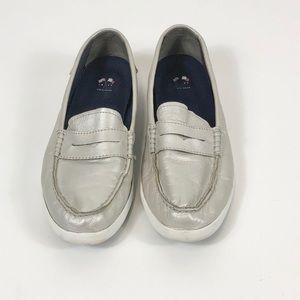 Cole Haan Pinch Weekender Loafer Silver